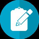 Illustration Datenschutz Checklist